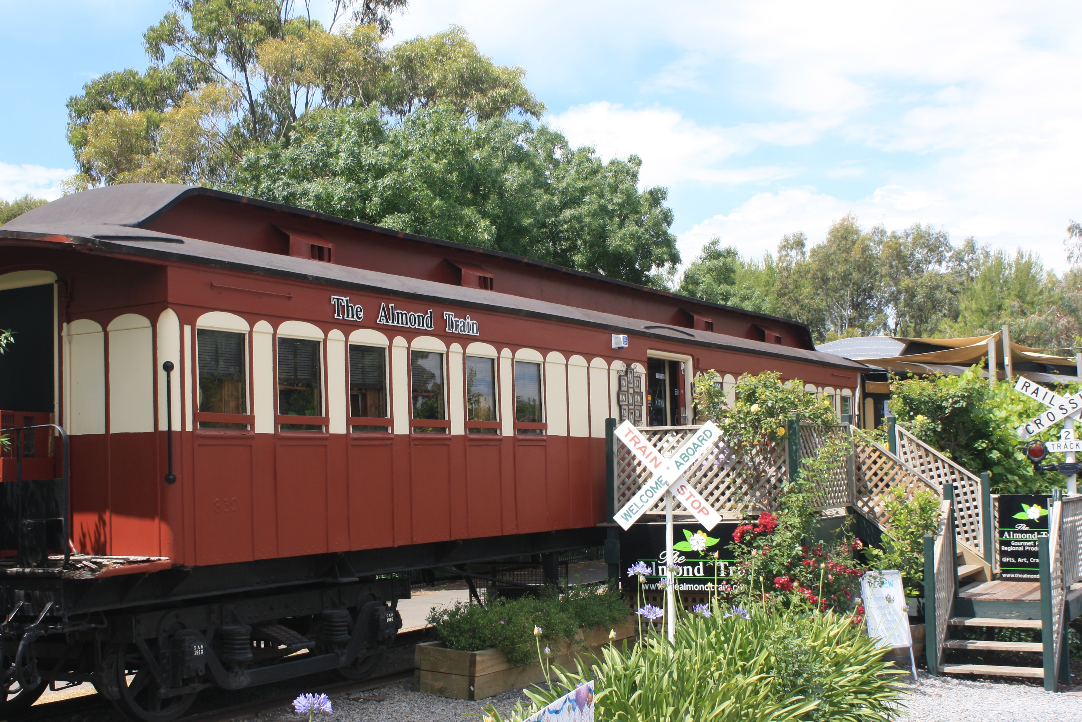 Almond Train And Carriage Cafe Adelaide
