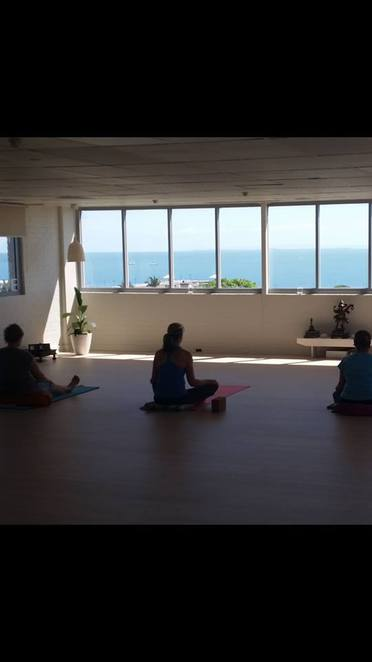 Inna Bliss Yoga Studios Wynnum now with beautiful views of the bay