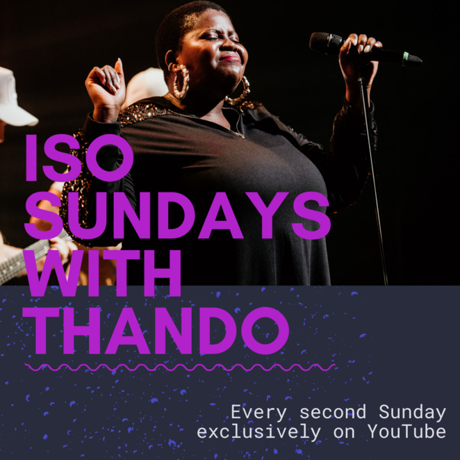 iso sundays with thando 2020, community event, fun things to do, musician, vocalist, singer, songs, music, entertainment, performing arts, online music event, support your musician, donate, private music streaming, cristian barbieri
