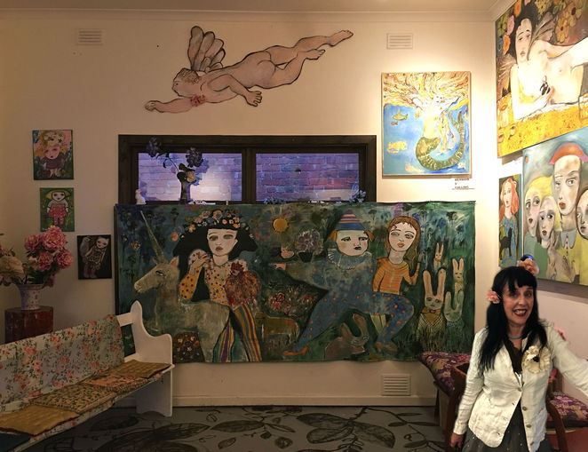 lin van hek, art exhibition, poet house, paintings, artist, oil paints, shopping, art, difficult women, intimacy music for terminator, author, poet, performer, singer, songwriter, joe dolce