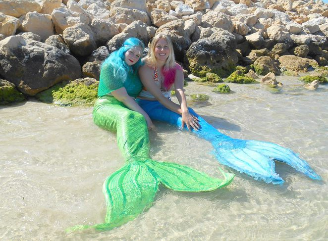 Mermaids in Perth - Photo Mermaid Amelia Facebook