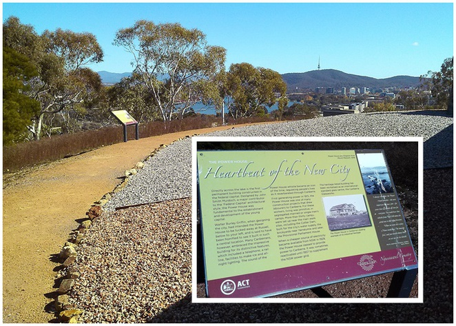 mount pleasant lookout, canberra, lookouts, views, ACT, lake burley griffin, duntroon, memorial, guns