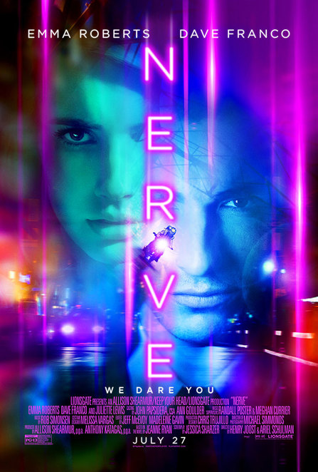 Nerve, Nerve movie, Dave Franco, Emma Roberts