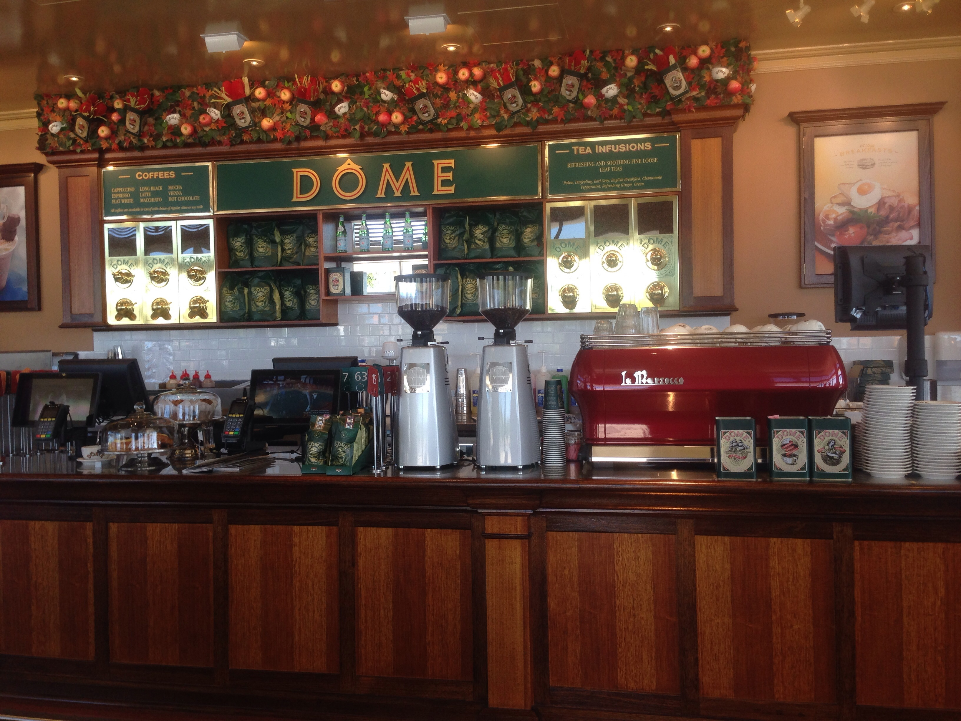 Dome Cafe Butler Perth