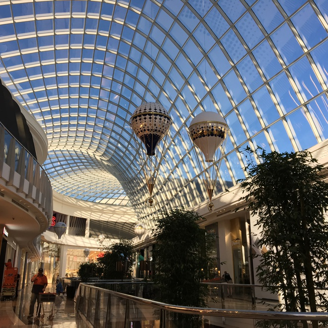Newly refurbished Chadstone Shopping Centre