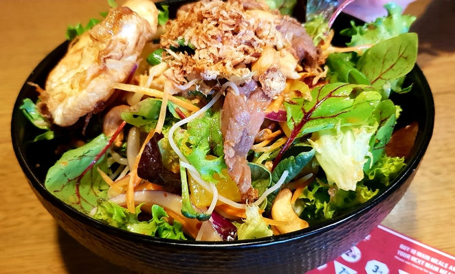 Noodles, satay, salad, spice, Rouse Hill, flavour, casual, family, salad, fresh