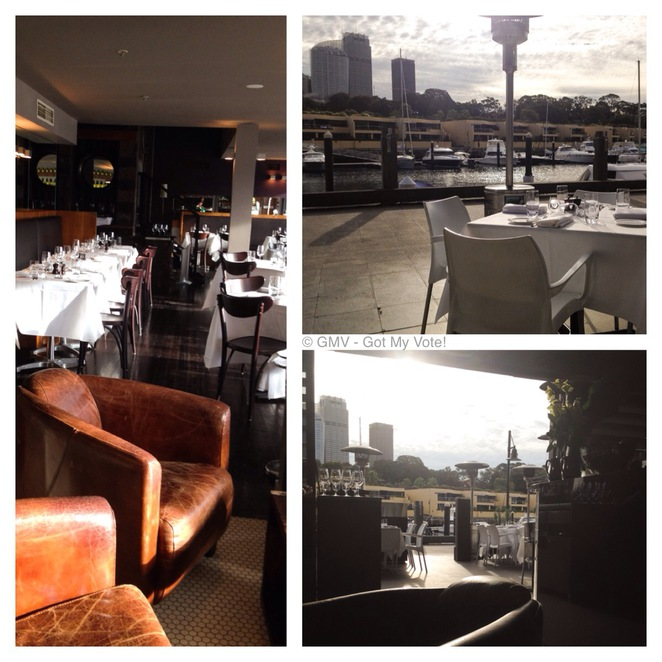 Otto, Italian, Restaurant, Sydney, One Hat, Fine Dining, Seafood, Pasta, Wine, GMV, Celebration, Marina, View