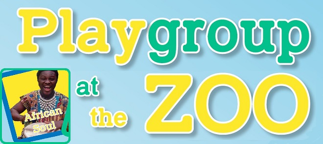 Playgroup at the Zoo, African Soul Drumming