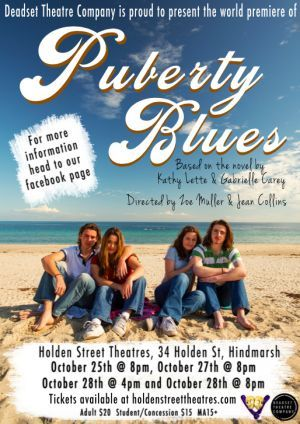 Puberty Blues on stage at Holden Street Theatre