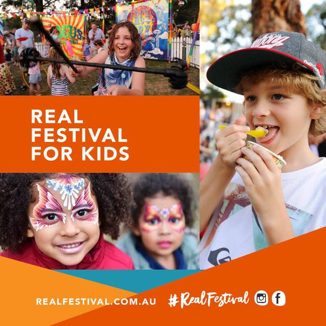 real festival 2018, visit penrith, penrith city council, community event, fun thing sto do, family fun, fun for kids, kids activities, theatre performers, artists, creative minds, jamisontown, tench reserve, stage shows, riverbank, outdoor adventure craft, food trucks, artisan markets, outdoor bar, under the stars, free event