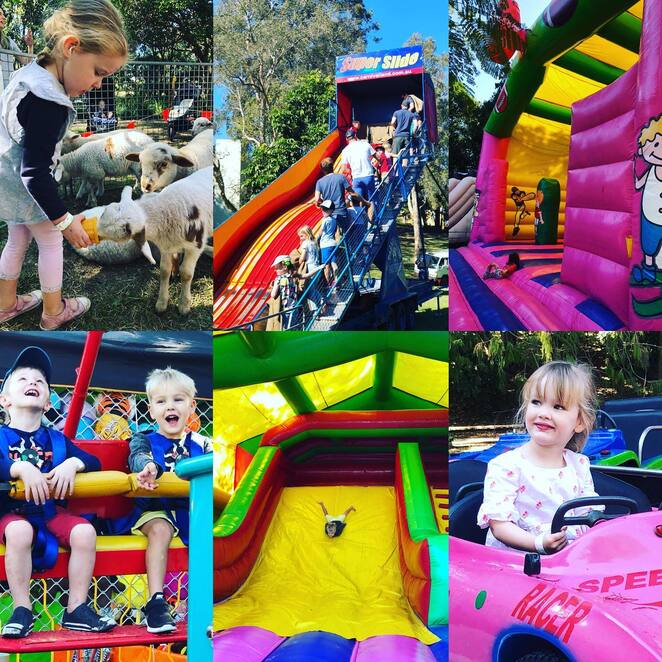 red hill fair 2019, community event, fun things to do, fun for kids, woolcock park, red hill kindergarten fundraiser, charity, fundraiser, unlimted rides, water warriors, fun filled day, trash and treasure, entertainment, activities, petting zoo, raffles, gourmet treats, coffee, burgers, bar, market stalls, cake stall, secondhand bookshop, bbq, queensland urban utilities trio, planet saving superheroes, live performances, ginger sport, all dayu unlimted rides pass, dancing danibelle