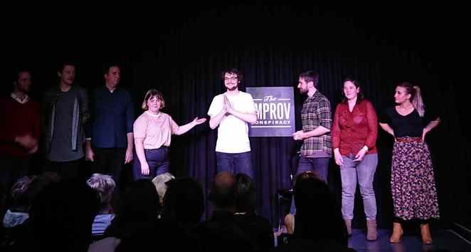 Remix, Improv Conspiracy Theatre, Mixologist, comedy, Damian Callinan, Free, storytelling, Armando, Chicago, Melbourne Fringe Festival, Meyers Place