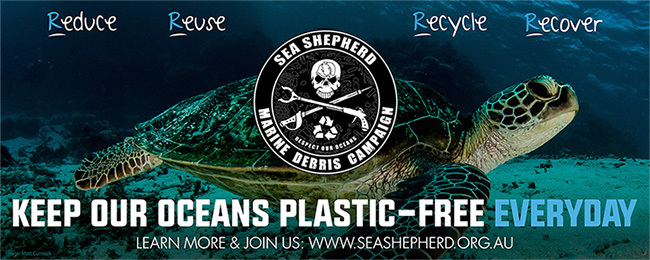 sea shepherd, clean up australia day, marine debris clean up
