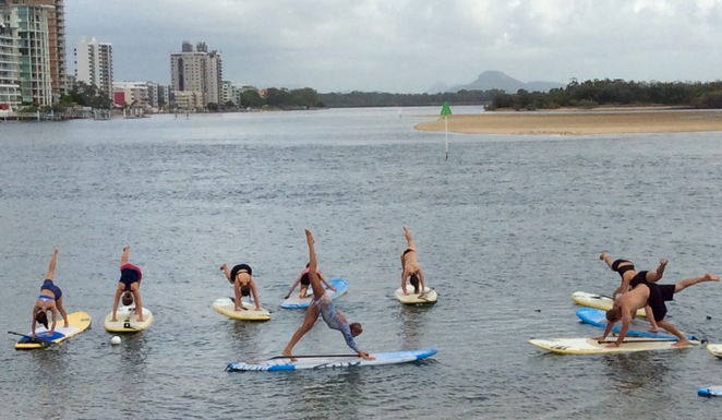 SUP Yoga Sarah-rose Sellars Ocean Addicts