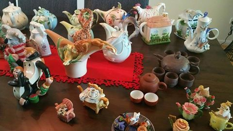 Teapot Extravaganza, Toowoomba, collections, collectibles, vintage, Devonshire tea, stalls, raffle, St Albans