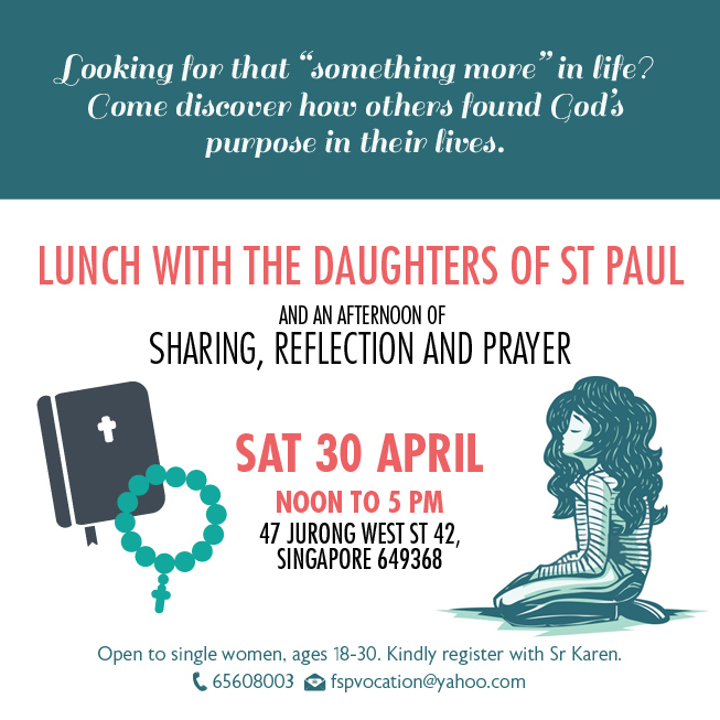 The Daughters of St Paul, catholic church, catholic, catholic church, church activity