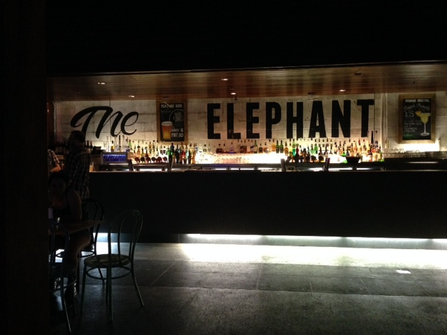 the elephant, pub, fortitude valley