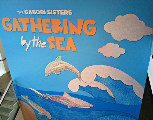 the gabori sisters gathering by the sea goma childrens art centre