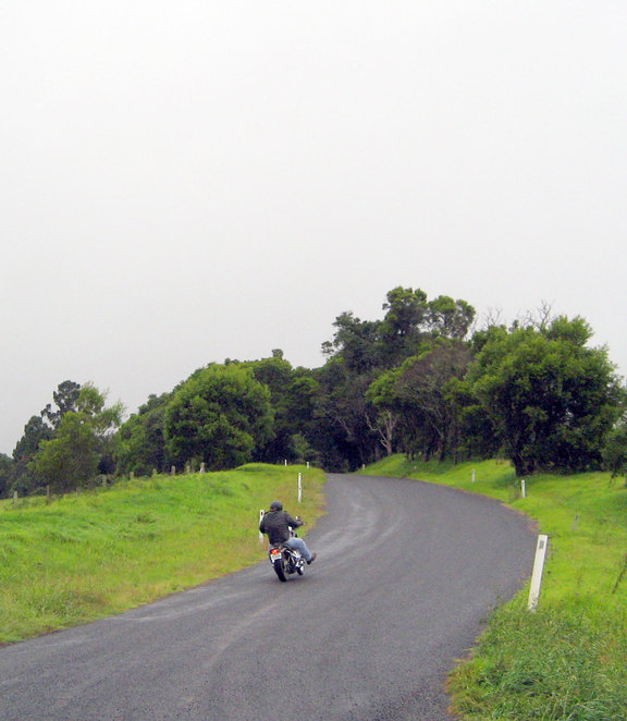 The road over The Head is popular with motorists and motorcyclists