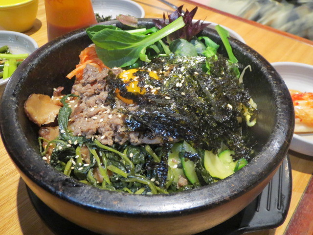 The Sparrow's Mill, Sizzling Stone Pot Bibimbap, Sydney