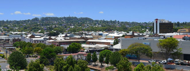 Photo of the Toowoomba Town Centre Courtesy of Wikipedia (Projo)