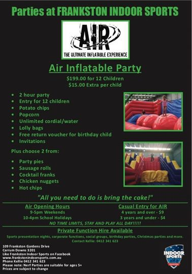 Ultimate Air Inflatables & Nerf War Party