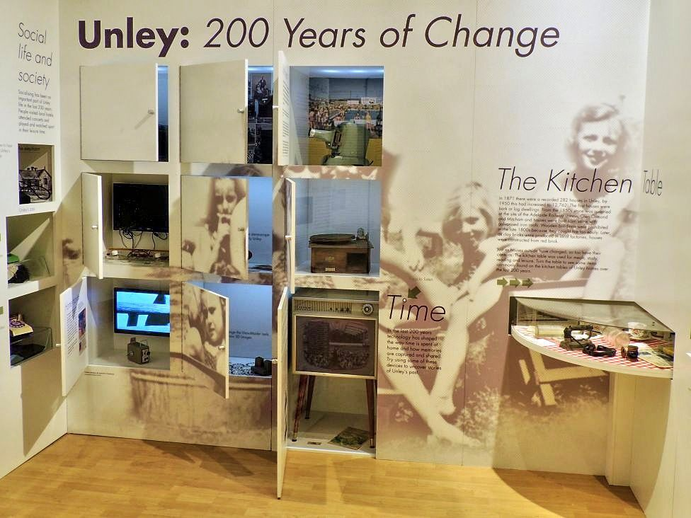 Exhibition Displays Adelaide : Unley museum adelaide