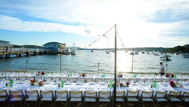 watsons bay boutique hotel, bay soiree, charity events sydney