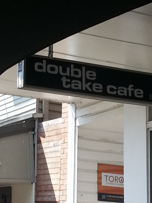 Breakfast at Double Take Cafe