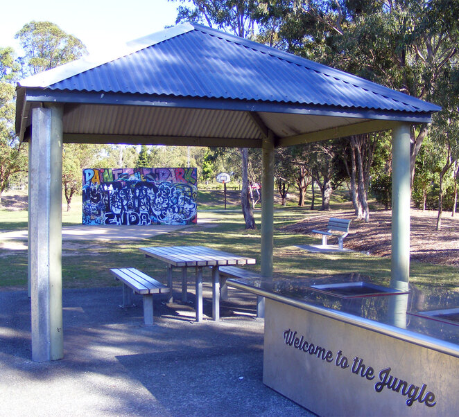 7th Brigade Park is a great spot for family fun
