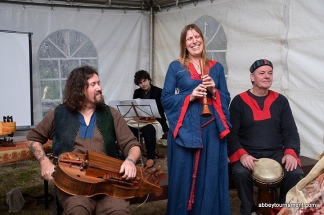 Abbey Medieval Festival music