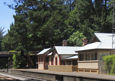adelaide hills, mount lofty, railway station, south australian railways, self catered accommodation, great southern rail, adelaide hills accommodation, stirling