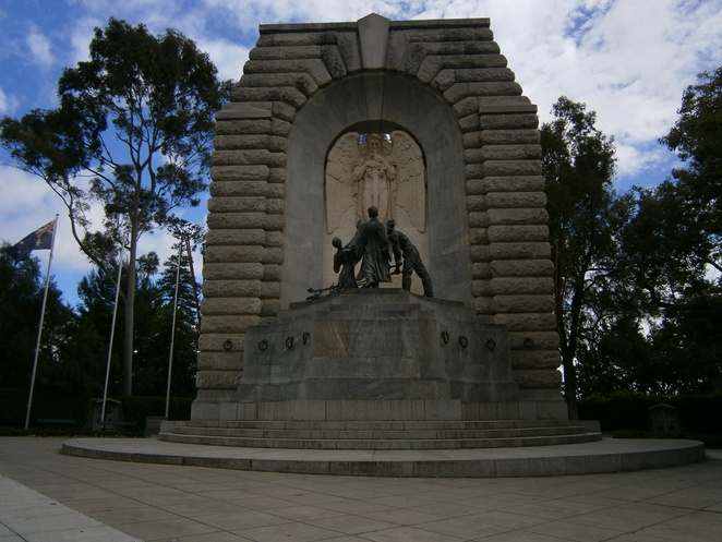 Adelaide national war memorial, rememberance, Woods, Bagot, Jory, Laybourne-Smith, angel, first world war, the great war,spirit of duty