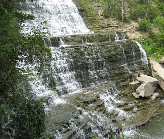 Albion, waterfalls, nature, scenic, walk, hike, trail, hiking, outdoors,