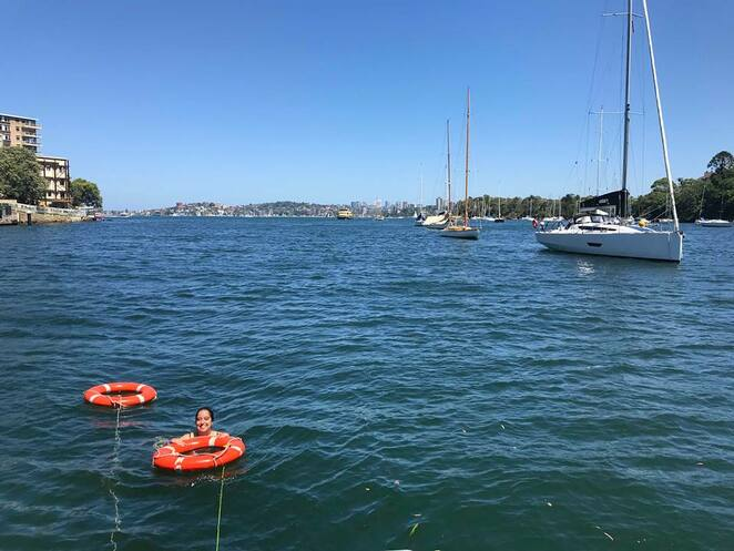 asail, yacht charters, learn to sail, sydney harbour, sailing, boat, mosman bay, swim
