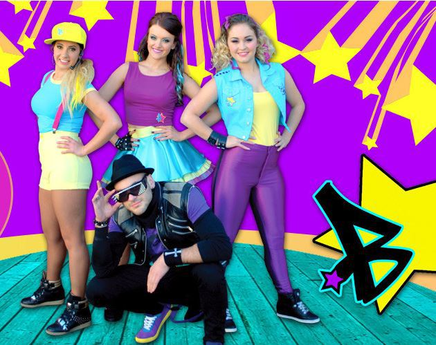 boomstars children performer band singing group entertainment