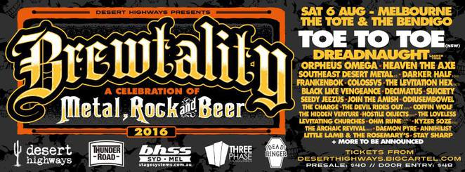 Brewtality: A Celebration of Metal, Rock & Beer