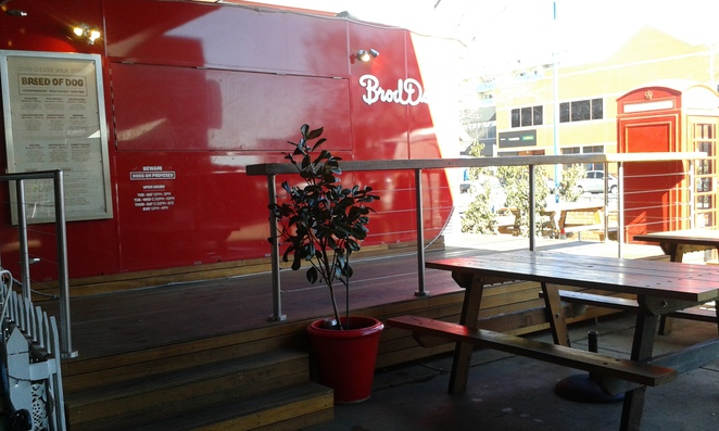 Brod dogs, The Hamlet, Lonsdale Street, Canberra, hot dogs