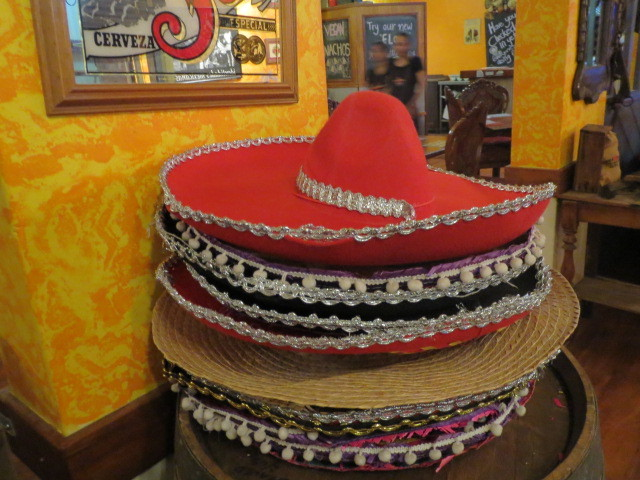 Cha Chi's Mexican Cantina, Sombreros, Adelaide