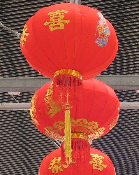 chinese, lunar, new year, asian, lion dance, festival, may cross