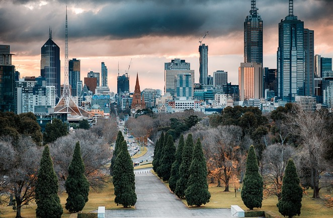 city,melbourne,town,australia,buildings,highrise,view,cityscape,skyline,victoria,urban,scene