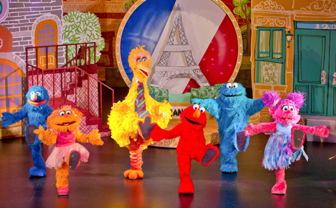 elmo world tour