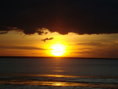 Sunset in Northern Territory