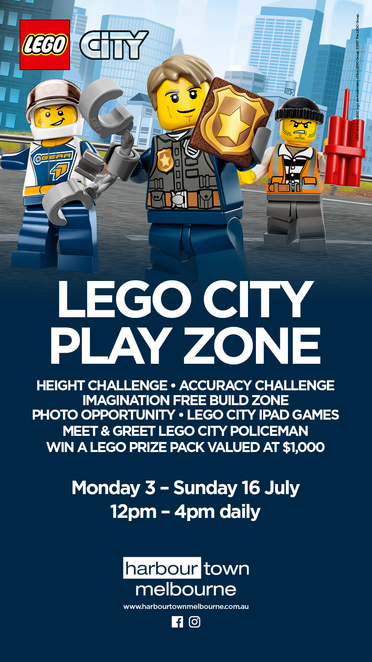 Free LEGO City play zone