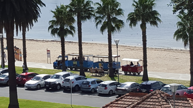 Thomas the Tank Tour Train, Eastern Beach
