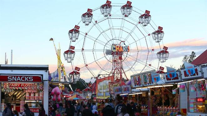 Hawkesbury Show, Clarendon, Sydney, Carnival, Easter Show, rides, showbags, April Events, Things to do in Sydney, Jade Jackson, agricultural show