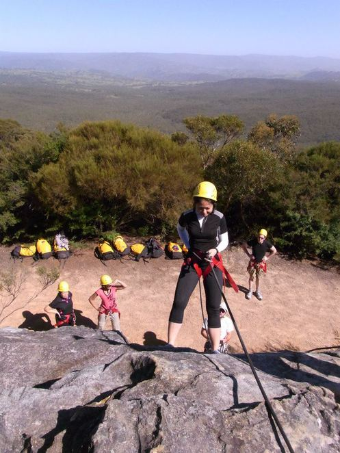 high and wild abseiling katoomba blue mountains
