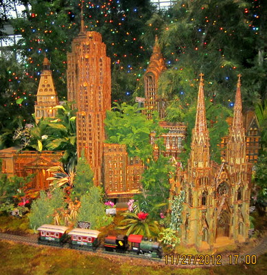 holiday, Christmas, model train