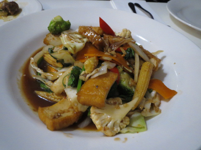 In Thais Cafe & Noodle Bar, Basil Stir Fry, Adelaide