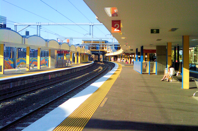 indooroopilly train station, ugly buildings brisbane